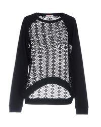 Sun 68 - Black Sweatshirt - Lyst