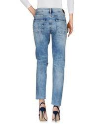 Pepe Jeans Blue Denim Trousers