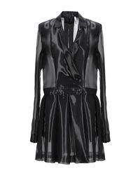 Helmut Lang Black Overcoat
