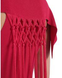 Roberto Cavalli Multicolor Langes Kleid