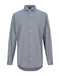 Eleventy Hemd in Gray für Herren