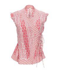 Camisa Antonio Berardi de color Pink