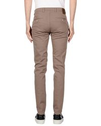 Henry Smith Gray Casual Pants for men