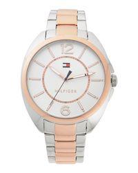 Tommy Hilfiger Metallic Wrist Watch