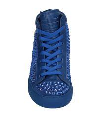 Sneakers & Tennis montantes Philipp Plein pour homme en coloris Blue