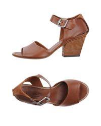Pantanetti Brown Sandals