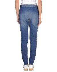 Manila Grace Blue Casual Pants