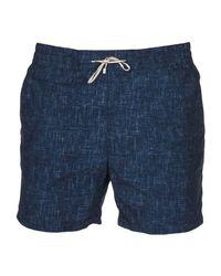 Short de bain Loro Piana pour homme en coloris Blue