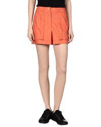 Adidas By Stella McCartney Orange Shorts