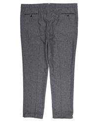 Pantalones Boglioli de hombre de color Gray