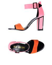 Kat Maconie Orange Sandals