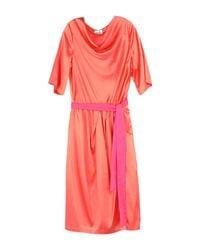 Niu Pink Knee-length Dress