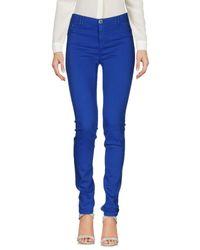 Armani Jeans Blue Casual Trouser