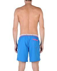 Bikkembergs Blue Swimming Trunks for men