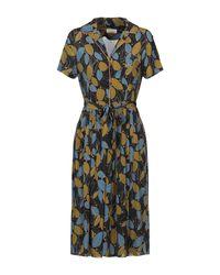 Siyu Blue Knee-length Dress