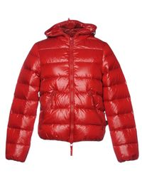 Duvetica Red Down Jacket for men