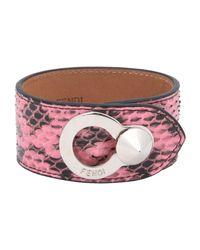 Fendi - Pink Bracelet - Lyst