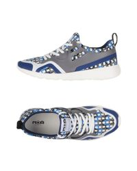 MOA Blue Low-tops & Sneakers for men