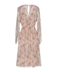 Pinko Pink Knee-length Dress