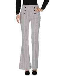 Carven White Casual Trouser