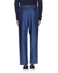 Covert Blue Denim Pants for men