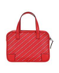 Bolso de mano Karl Lagerfeld de color Red