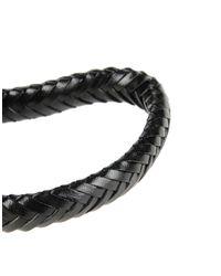 Alexander McQueen   Black Bracelet   Lyst