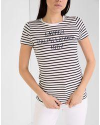 T-shirt di Lauren by Ralph Lauren in Black