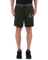 Nike Green Bermuda Shorts for men