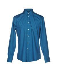 Versace Blue Shirt for men