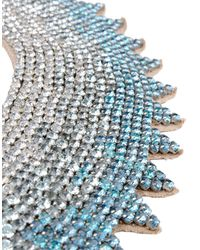Valentino Blue Crystal Necklace