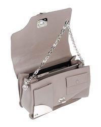 Versace Gray Handbag