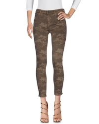 J Brand Green Denim Trousers