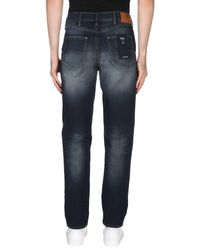 Armani Jeans Blue Denim Trousers for men