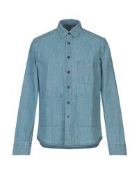 Aspesi Jeanshemd in Blue für Herren