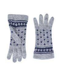 8 - Blue Gloves - Lyst