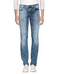 Pantalones vaqueros Versace Jeans de hombre de color Blue