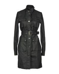 Love Moschino Black Overcoat