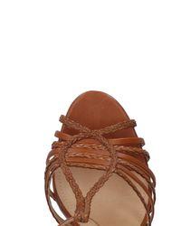 Schutz Brown Sandals