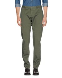Pantalones Etro de hombre de color Green