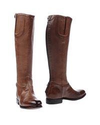 Alberto Fasciani Brown Boots