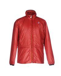 K-Way Red Jacket for men