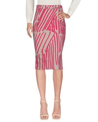 Vivienne Westwood Anglomania Multicolor 3/4 Length Skirt
