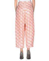Pt0w Orange Casual Pants