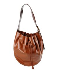 Stella McCartney Brown Shoulder Bag