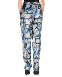 Jijil Blue Casual Trouser