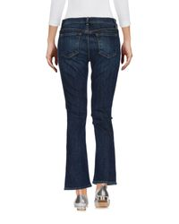 J Brand Blue Denim Pants