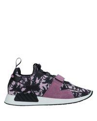 Quattrobarradodici Purple Low-tops & Sneakers