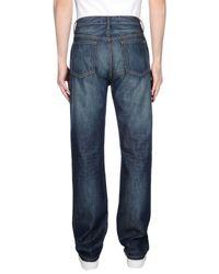 Marc By Marc Jacobs Blue Denim Pants for men