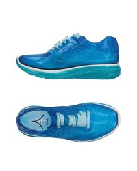 AIRDP by ISHU+ Blue Low-tops & Sneakers